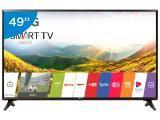 "Smart TV LED 49"" LG Full HD 49LJ5550 webOS - Conversor Digital 1 USB 2 HDMI"