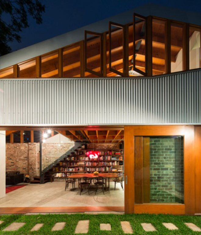 a residence that implements passive heating