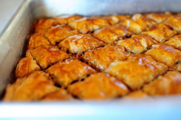 Homemade baklava: Ree Drummond, Pioneer Woman Recipes, Sweet Treats, The Pioneer Woman, Christmas, Baklava Recipes, Pioneer Women, Fresh Fruit, Delicious Food