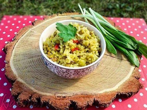 Кичари - рецепт аюрведического блюда из риса и маша | Классные вегетарианские рецепты