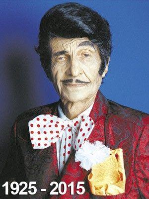 Jorge Loredo - 1925-2015_O ator Jorge Loredo, o Zé Bonitinho, de 89 anos, morreu na manhã desta quinta-feira (26). Ele estava internado no Hospital São Lucas, em Copacabana, na Zona Sul do Rio, desde o dia 3 de fevereiro na Unidade de Terapia Intensiva.