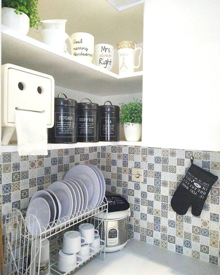 13 best desain dapur images on pinterest kitchens for Kitchen set untuk dapur sempit