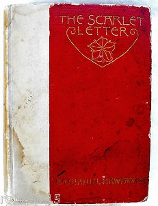antique scarlet letter