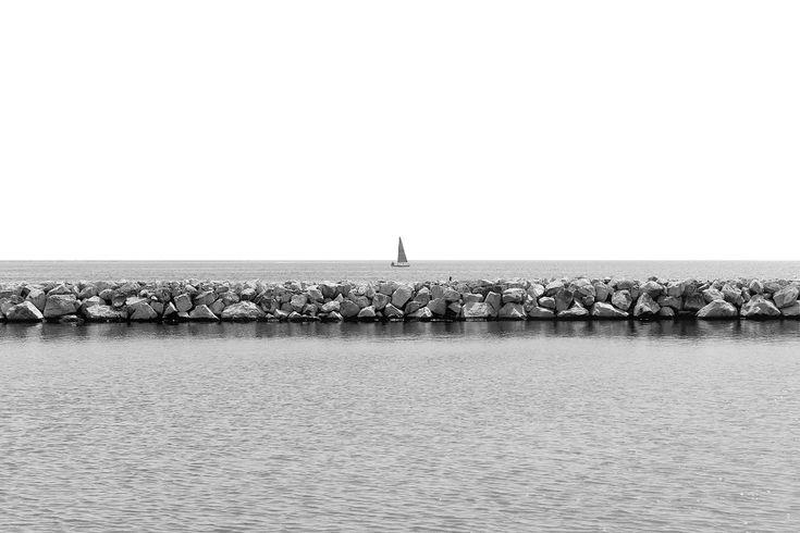 Ιστιοφόρο στον ορίζοντα της Καλαμαριάς (Μάιος 2017)