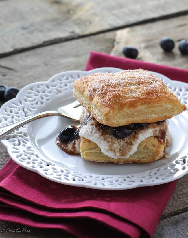 Balsamic Blueberry Mille-Feuille. Mille-feuille, also known as Napoleon is a traditional French dessert. I'm sure you've enjoyed it many times. I love seeing the flaky, gorgeous, chocolate and vanilla swirled tops of mille-feuille ...