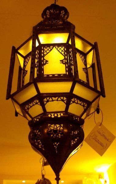 Lanterna Marocchina (Illuminazione, Lanterne Marocchine) di Artigianato Vulcano, eCommerce specializzato nella vendita di articoli etnici, marocchini e orientali.
