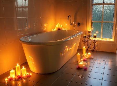 Decadent bathroom #Stanthorpe #Queensland #Travel find us at www.diamondvalecottages.com.au