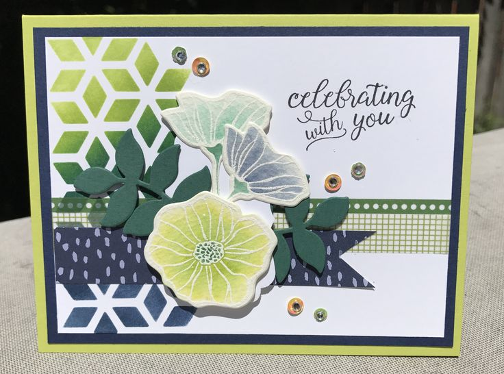 Oh So Eclectic Bundle - Stampin' Up!  Michelle Klieber - Independent Stampin' Up! Demonstrator Ink Up My World Blog  Tranquil Tide Lemon Lime Twist Pool Party Night of Navy