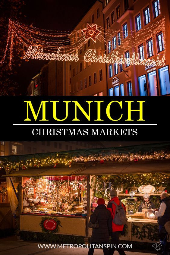 Visiting Munich during the winter season? Check out these beautiful Christmas markets! #munich #christmas #travel