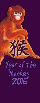 Chinese new year 2016 RED MONKEY. New years eve. New year greetings, images, wishes, cards, sms, wallpaper, dresses, recipes, menu, toasts, songs, jokes