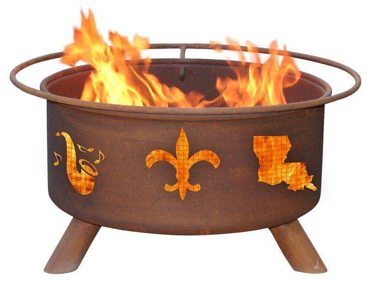 Decorations - Mardi Gras Fire Pit | Wayfair (($))