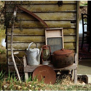 I love old and rustic things...