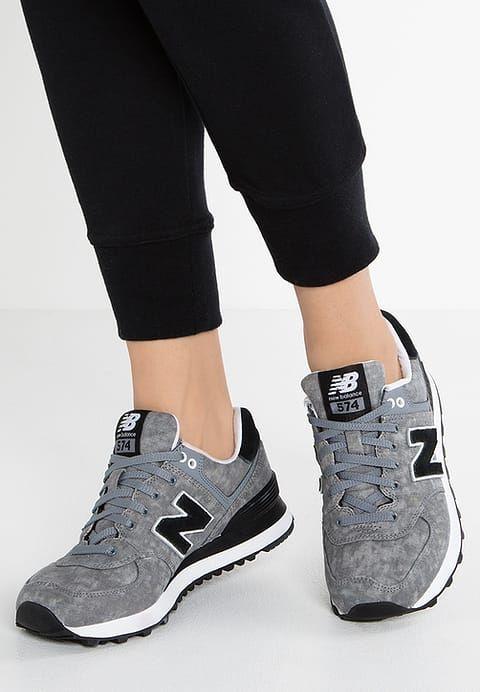 Schoenen New Balance WL574 - Sneakers laag - gunmetal Grijs: € 89,95 Bij Zalando (op 9-6-17). Gratis bezorging & retour, snelle levering en veilig betalen!