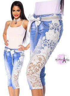 pantalones pescadores de mujer con diseño - Buscar con Google