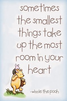 Yes Pooh, so true