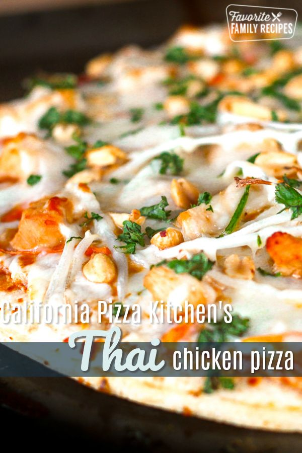 I am in love with this recipe for California Pizza Kitchen\u0027s Thai - California Pizza Kitchen Chicago