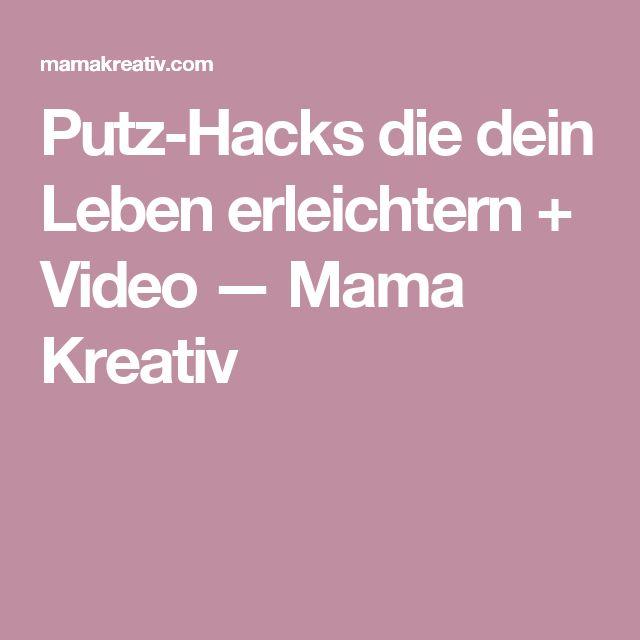 Putz-Hacks die dein Leben erleichtern + Video — Mama Kreativ