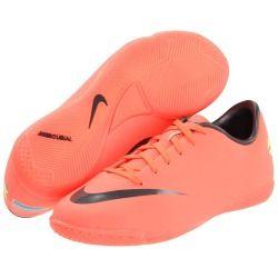 Pink & black , indoor soccer cleats