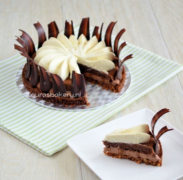 Chocolate Caramel pastry, delicious!