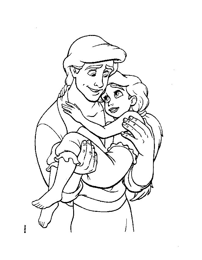 The little mermaid 2 coloring pages - Google-søgning