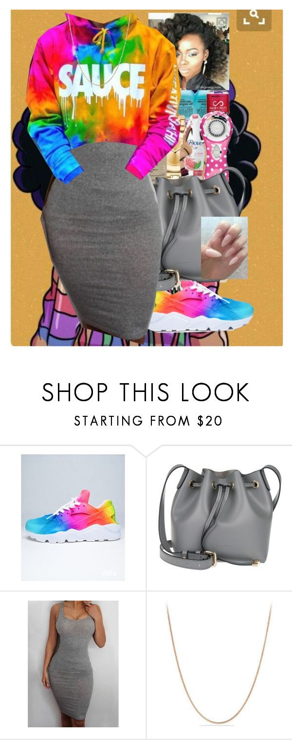 """""""Untitled #567"""" by queen-sugah900 ❤ liked on Polyvore featuring NIKE, Coccinelle and David Yurman"""