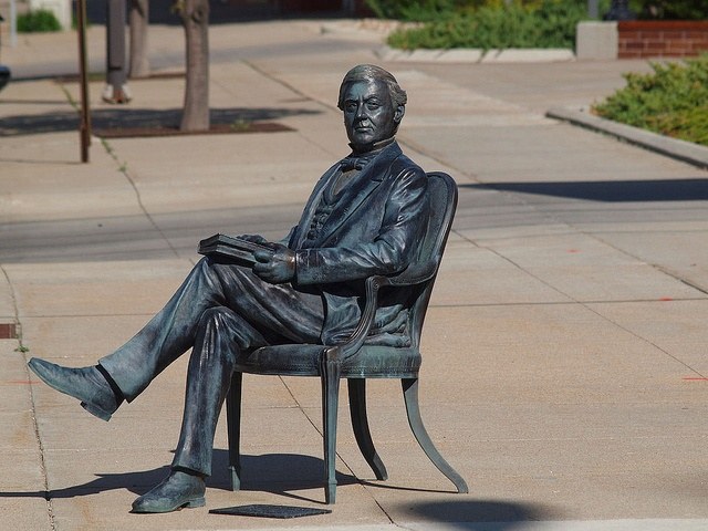 Millard Fillmore Statue, Presidents Tour, Rapid City, South Dakota - 13th President of the United States of America