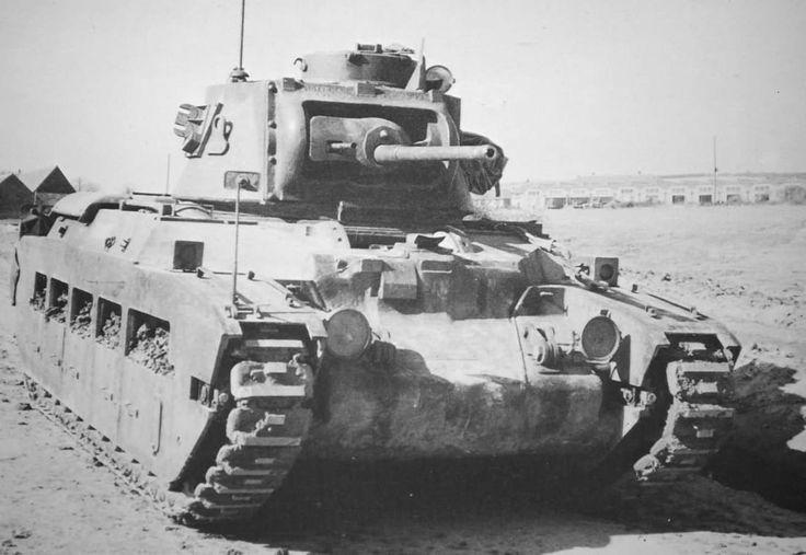 Na II Guerra Mundial, a maior parte dos tanques britânicos estava equipado com material para fazer chá.