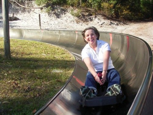 Love the Toboggan Hill Park in Port Stephens.  Ignore the braking signs!