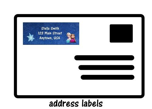 16 Best Address Labels And Envelopes Images On Pinterest | Address