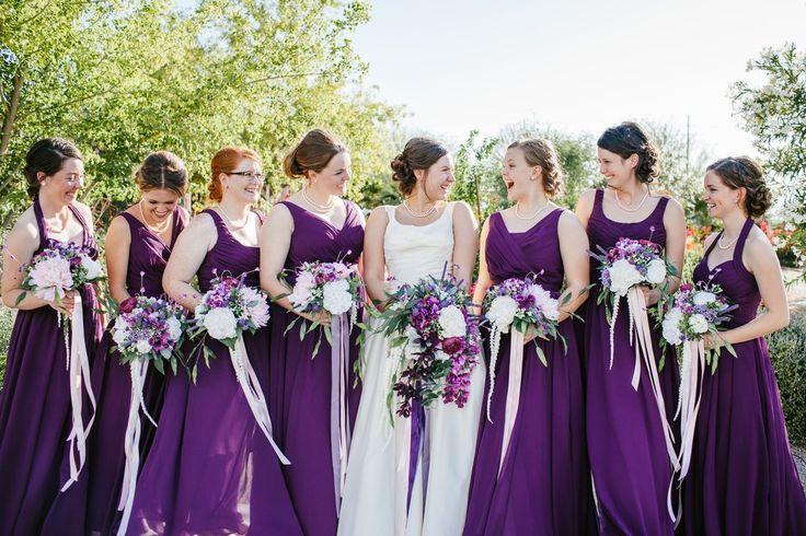 Eggplant Bridesmaid Dresses | Kennedy Blue