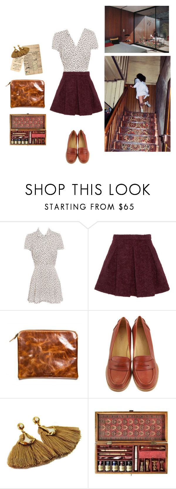 """""""Timelapse [tag]"""" by queenofthewesternsun ❤ liked on Polyvore featuring Opening Ceremony, Karl Lagerfeld, Made In Mayhem, A.P.C., ara, Authentic Models and vintage"""