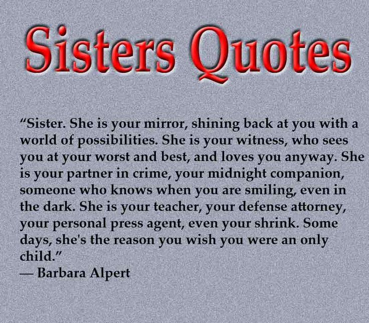 Love My Big Sister Quotes Glamorous The 25 Best Sister Quotes Images Ideas On Pinterest  Sister Love