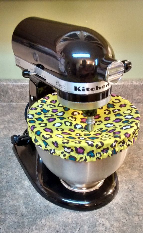 Fabric Mixing Bowl Covers/KitchenAid Bowl by CeeCeesCraftCreation