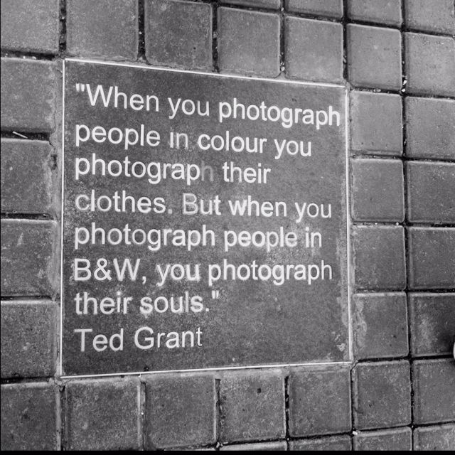 Basicly exactly what I have always said whenever I have explained why I like black and white pictures better!