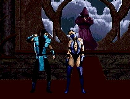 n64thstreet: Kitana gets put on ice in Mortal Kombat Trilogy, by Midway.