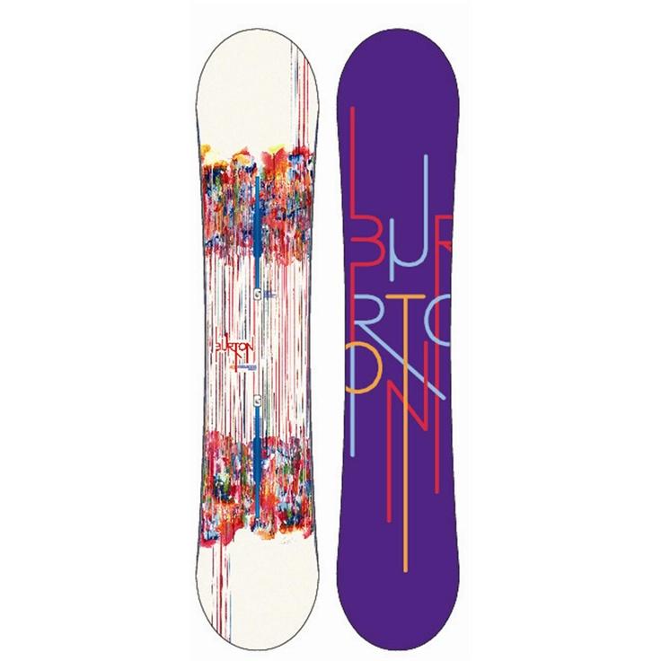 Burton Feelgood Flying V Snowboard - Women's 2013