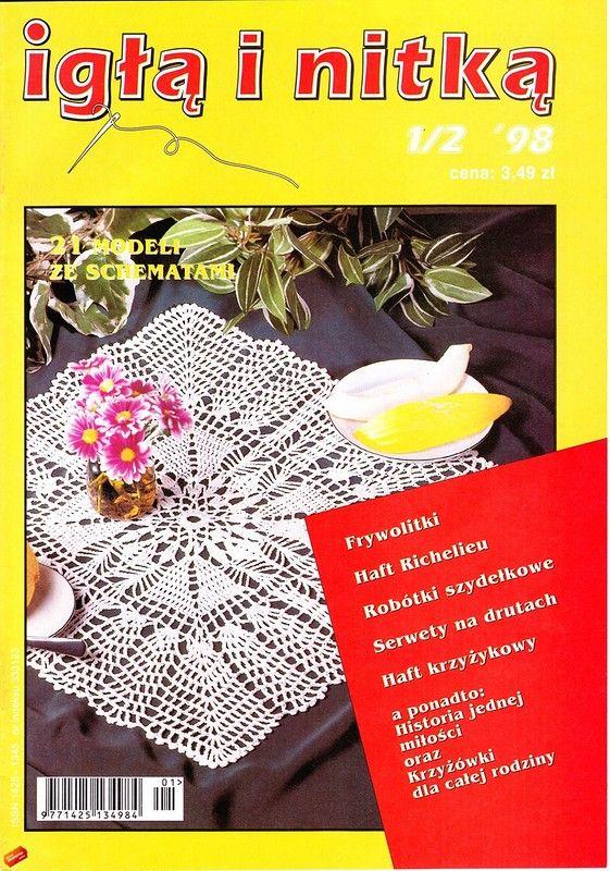 Журнал: Igla i nitka №1-2 1998 - Рукодельница - ТВОРЧЕСТВО РУК - Каталог статей - ЛИНИИ ЖИЗНИ