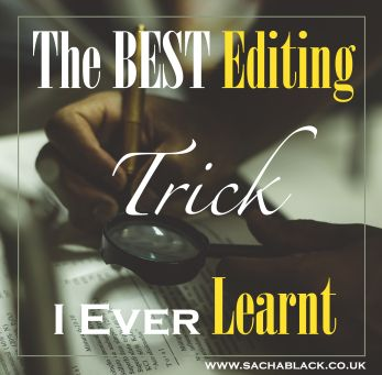 Editing is a bitch. I've written about the differences between editing and revising before. But my dear friend Ali recently taught me one of the best, most practically useful lessons I've ever learnt when it comes to editing.