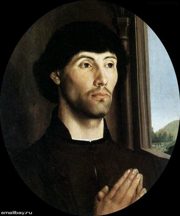 """""""Портрет молодого человека"""" 1480"""