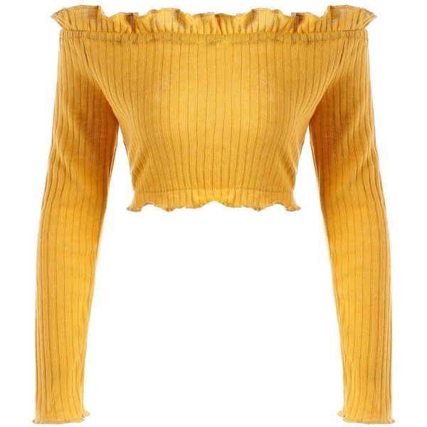 Earthy 2xl Off The Shoulder Ribbed Ruffle Crop Sweater 980