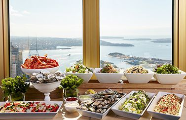 Sydney Tower Buffet Menu: delicious hot & cold dishes and desserts | Trippas White Group