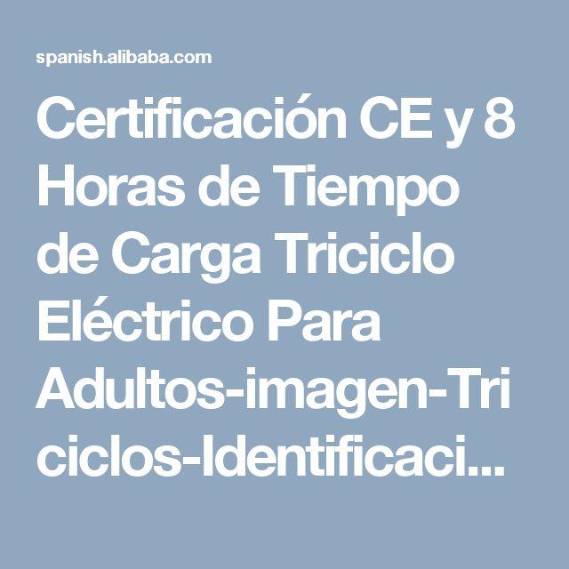 Certificación CE y 8 Horas de Tiempo de Carga Triciclo Eléctrico Para Adultos-imagen-Triciclos-Identificación del producto:60482136570-spanish.alibaba.com