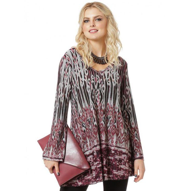 RAXSTA Γυναικείο μπλουζοφόρεμα V