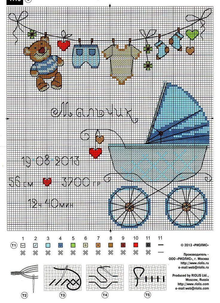 Открытки для новорожденных схемы и описание, открыток розами