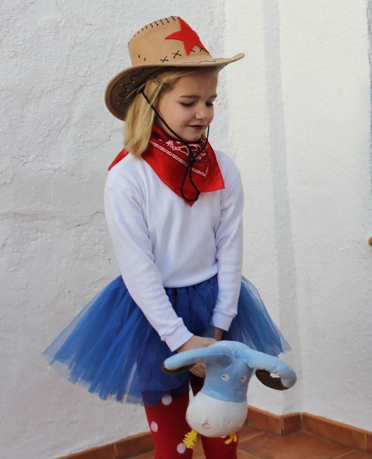 disfraz de cowgirl con tutú #diy #costume