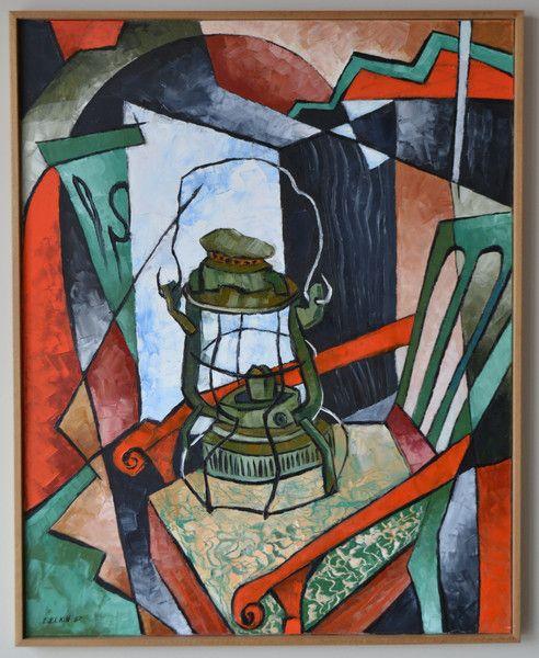 The Memory Chair Painting by Elizabeth Elkin