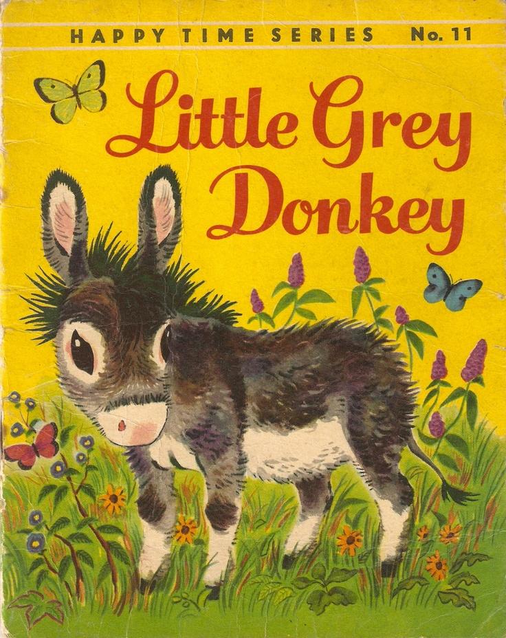 Donkeys grey and little golden books on pinterest