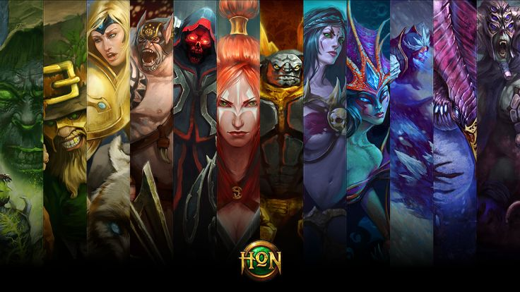 hero terbaik dan terkuat heroes of newerth HON