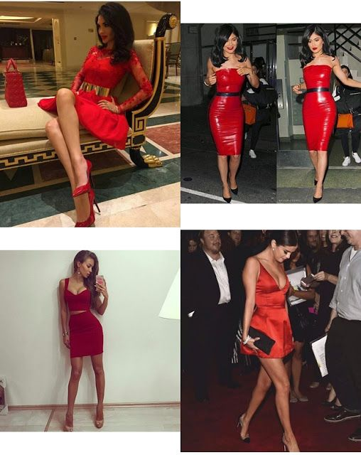 Fashion-Donats: RED DRESS/VALENTINE DAY'S