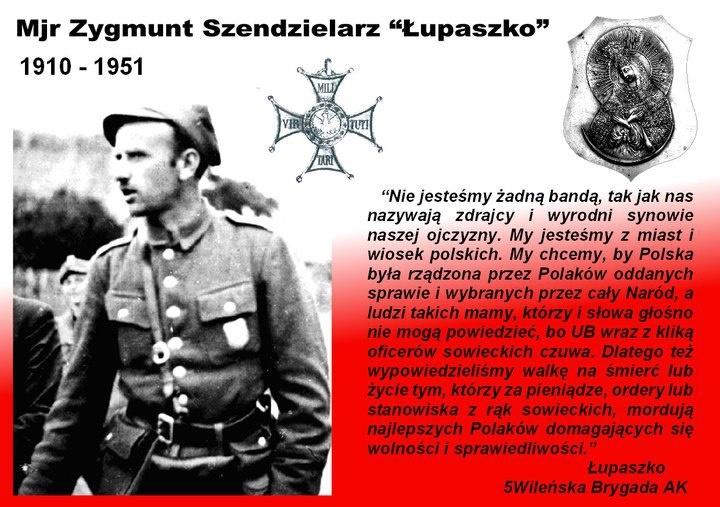 """mjr. #Zygmunt #Szendzielarz """"Łupaszko"""" #quotes #cytaty"""